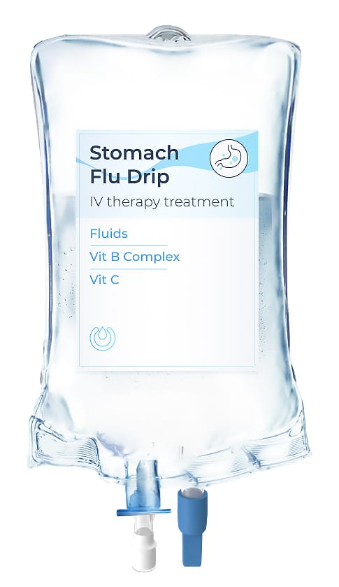 iv therapy for stomach flu