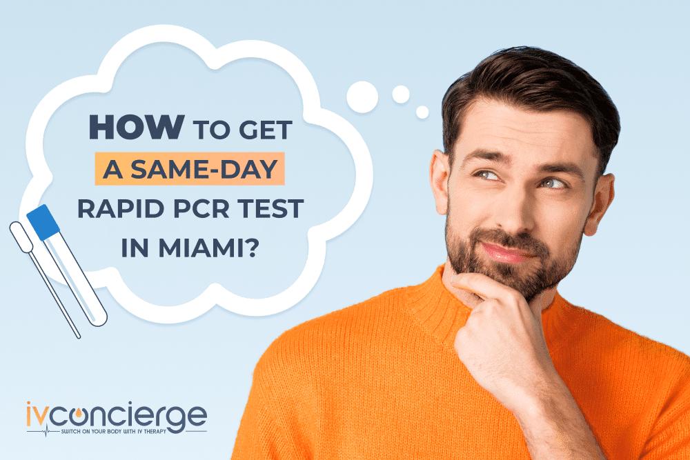 pcr test same day